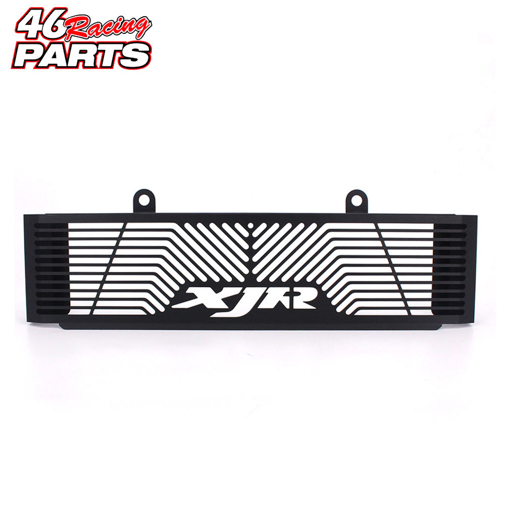 Black Motorcycle Accessories Radiator Guard Protector Grille Grill Cover For YAMAHA XJR 1300 XJR1300 1998-2008 casio mcw 100h 3a