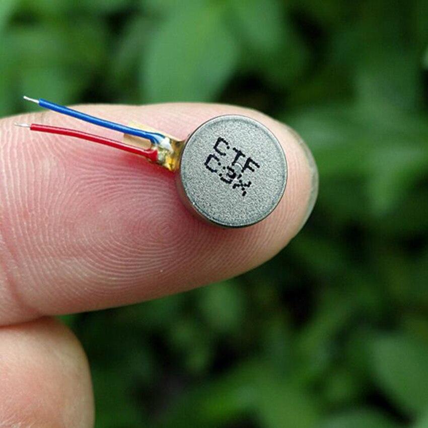 1 pièces Mini Vibration Moteur DC3V-4.2V 0930 plat bouton-type Moteur pour téléphone portable tablette appareils ménagers