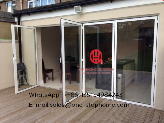 Aluminium Interior Temporary Soundproof Folding Shutter Interior Door,weather Stripping Glass Interior Bi Folding Doors