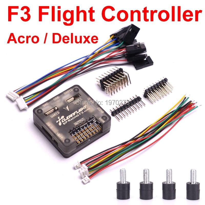 Upgrade NAZE32 SP Racing F3 Flight Control Acro Version / Deluxe Version With Case For QAV-R 220 QAV-X Quadcopter