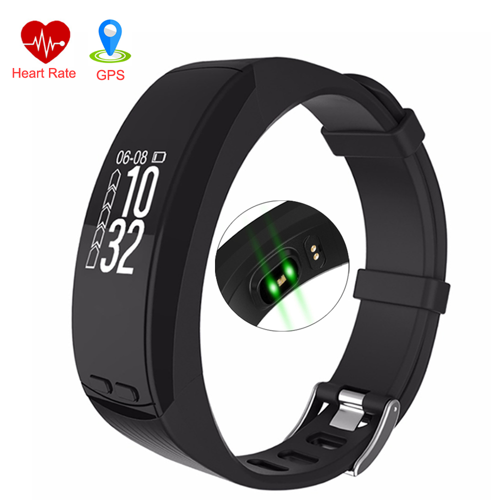 Heart Rate Monitor Smart Watches GPS Location Tracker Outdoor Sports P5 Bracelet Altitude Barometer  Pressure Measurement Watch smart baby watch q60s детские часы с gps голубые