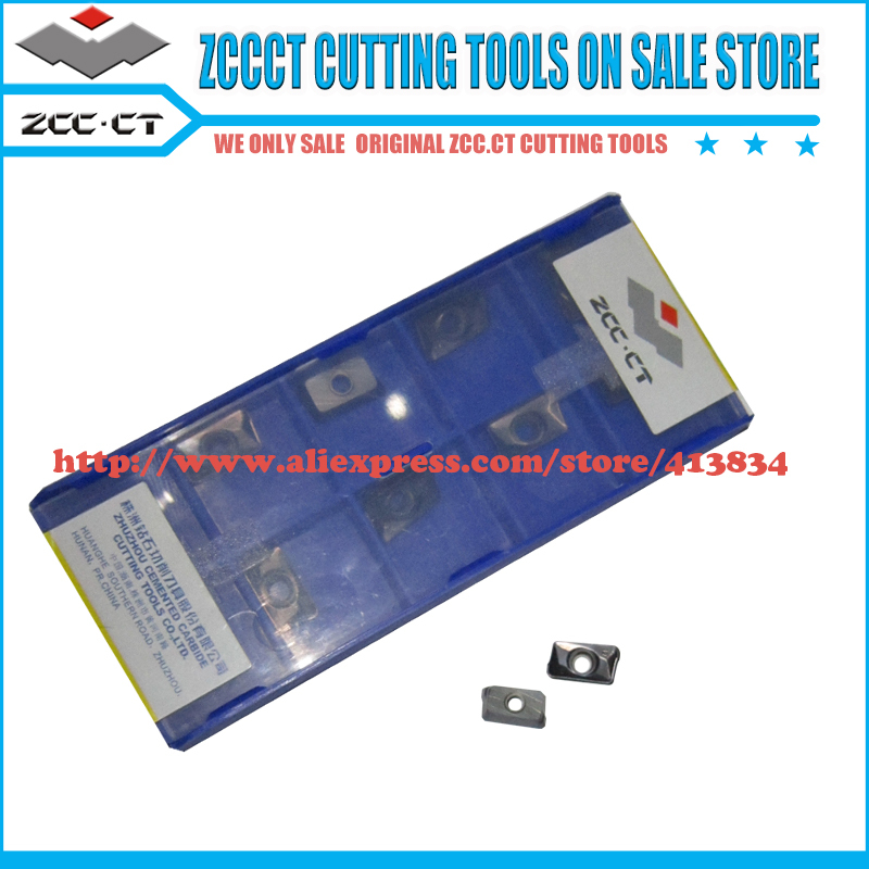 10pcs APKT11T312 PM YBG202 APKT 11T312 PM ZCC cutting tool insert cnc machinery metal milling cutter