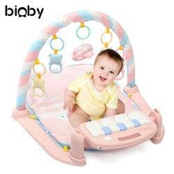 Desenvolvimento Musical Esteira de Ginástica Tapete do Assoalho Do Bebê Crianças Crianças Brinquedos Do Bebê Rack de Aptidão Cobertor Música de Piano Jogo Desenvolvimento Intelectual