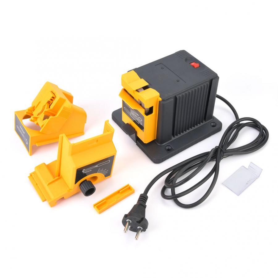 AC 230V MultiFunction 96W Electric Knife Scissor Sharpener Drill Kit With DE Plug For Twist Drill