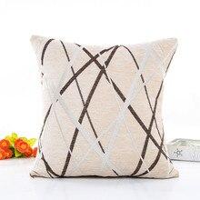 Квадратная плюшевая подушка для дивана подушка для подушек домашний Декор Наволочка декоративная Заказная наволочка украшение