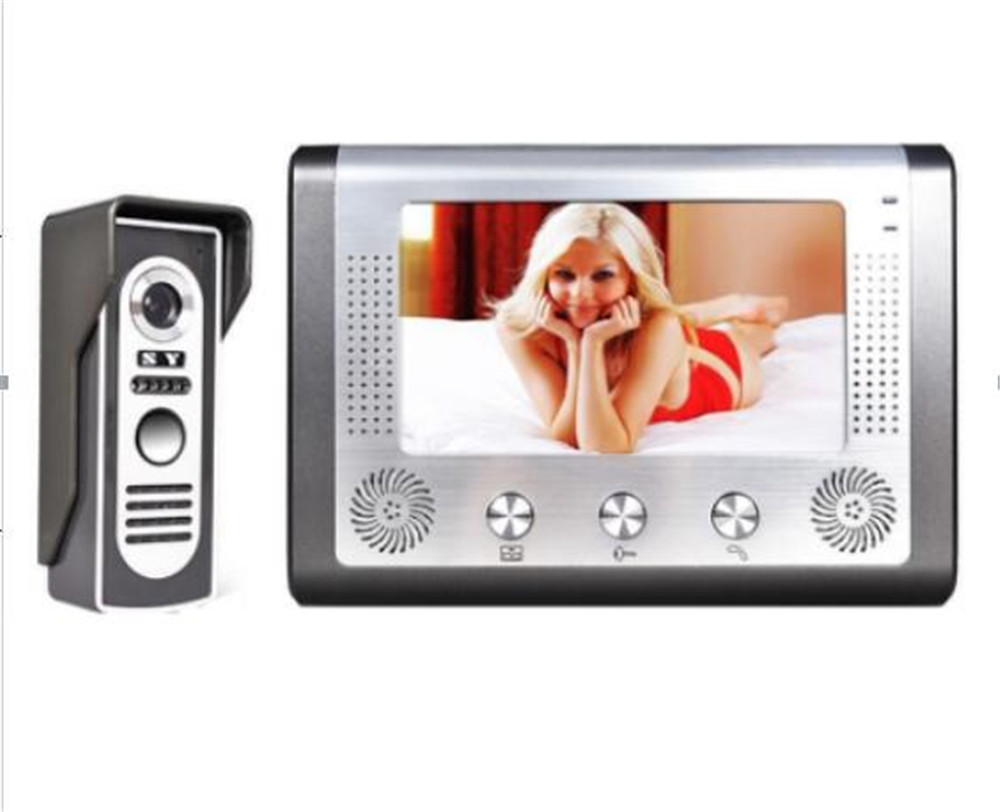 7 Inch 700TVL Color Intercom Video Door Phone