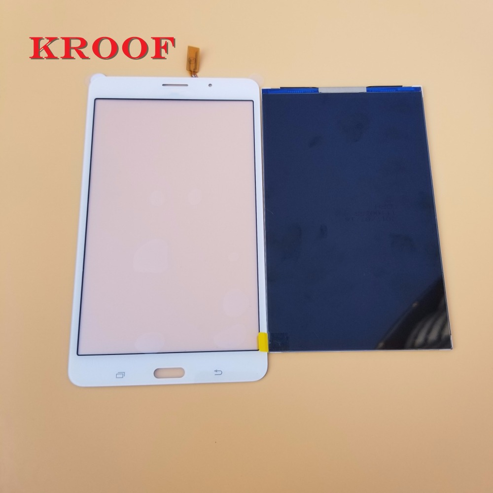 For Samsung Galaxy Tab 4 7.0 T230 T231 Touch Screen Digitizer Glass+LCD Display Panel Replacement For SM-T230 T231 new tablet pc lcd screen bp070wx1 300 for samsung galaxy tab 4 7 0 t230 t231 lcd screen display panel free shipping