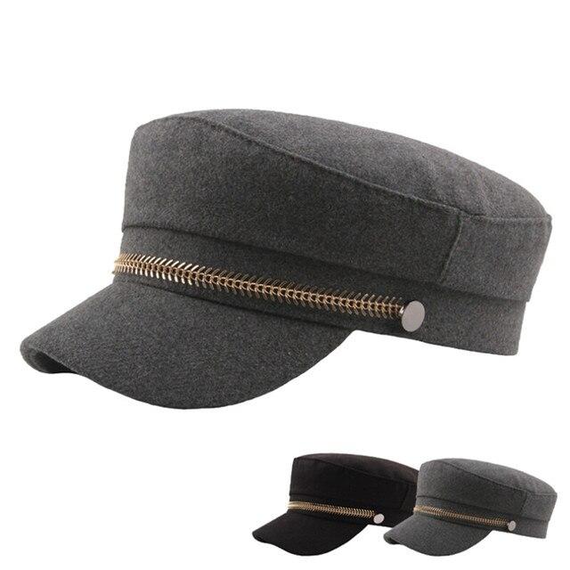 5976ce0cac1 KANCOOLD Unisex Women Men Fashion Hat Flat Military Hat Cadet Patrol Bush  Hat Baseball Field Cap Snapback Casual Caps PJ0925