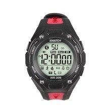 สมาร์ทนาฬิกาBluetooth4.0กันน้ำกันฝุ่นนาฬิกากลางแจ้งสมาร์ทสร้อยข้อมือสายรัดข้อมือกีฬาAPPสำหรับAndroidบลูทูธ4.0/IOS