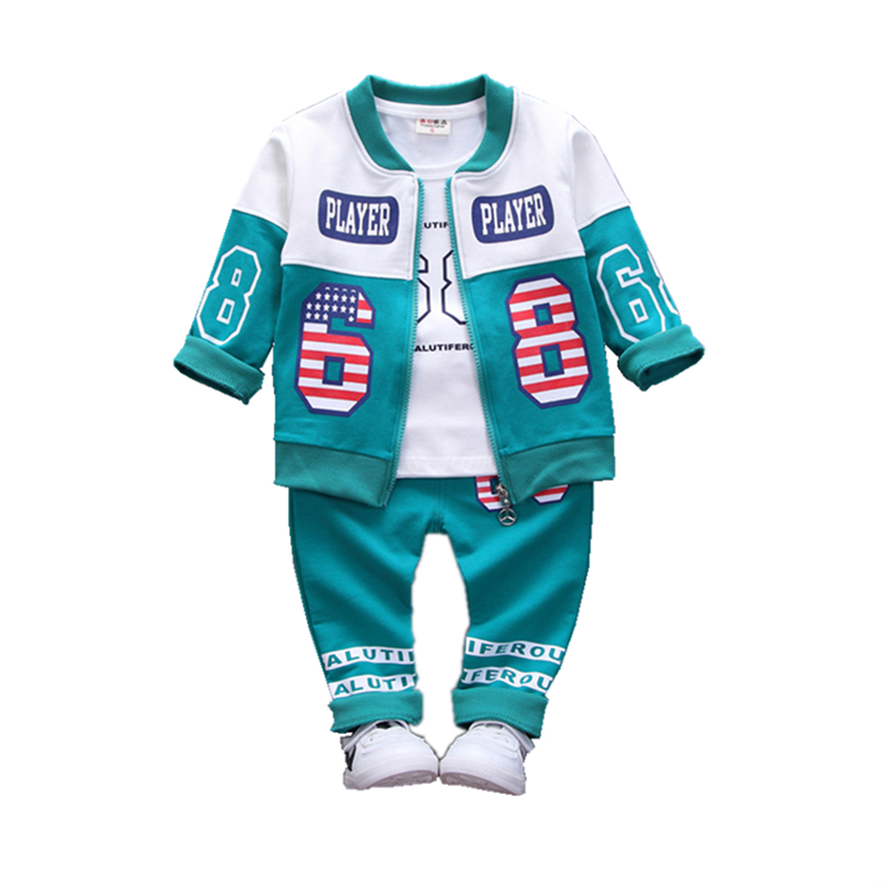 Kids Sport Suits Boys Girls Tracksuits Children Clothing Baby Infant Outfits 4 Color Fashion Sets 2018 Spring Autumn Kid Clothes аксессуар gembird cablexpert dvi d single link 19m 19m 1 8m black cc dvi bk 6
