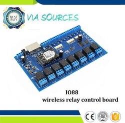 Máquina de automatización industrial IO88 Home PC/Android/IOS control wifi 8 canales 8 relaysboard/control de relé inalámbrico
