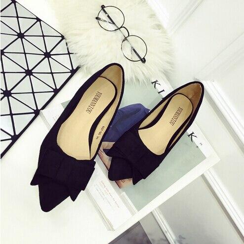 7e592bb1 Europa 2016 moda zapatos mujer zapatos de tacón bajo informal suede mujeres  de los zapatos de