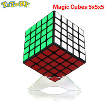 Magic Cubes 5x5x5 Cubo Magico Qiyi Qizheng S Cube 5x5 Stickerless Qizhengs cubic antistress 5 by Toys For Children 62mm