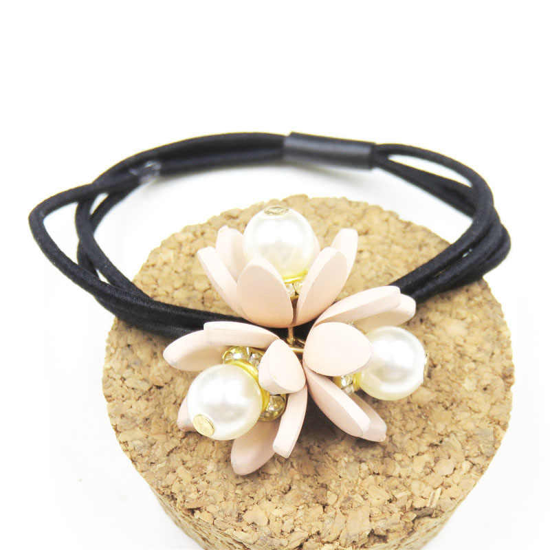 1PCS Creative 3 Flowers Elastic Hair Bands For Girls Bohemian Headband Scrunchy Korean Fashion Kids Hair Accessories For Women