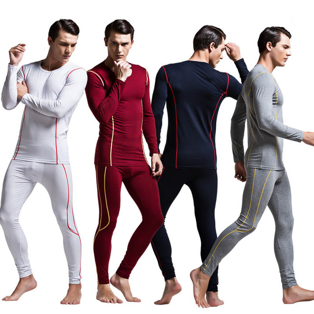 1 Unidades Superior Calidad de Los Hombres Marca de Ropa Interior Térmica Modal Long Johns Ropa Interior Térmica de Invierno de Los Hombres ropa de Noche Fija leggings