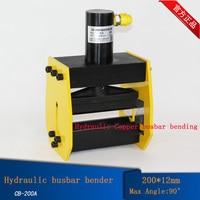 1pc CB 200A Hydraulic bus bar bender,Hydraulic Copper busbar bending machine,busbar bender,brass bender bending tool