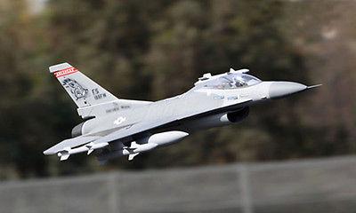 SCALE SkyFlight LX F16 Falcon ARF/PNP RC Plane W/ Motor Servos ESC Vector Nozzle W/O Battery