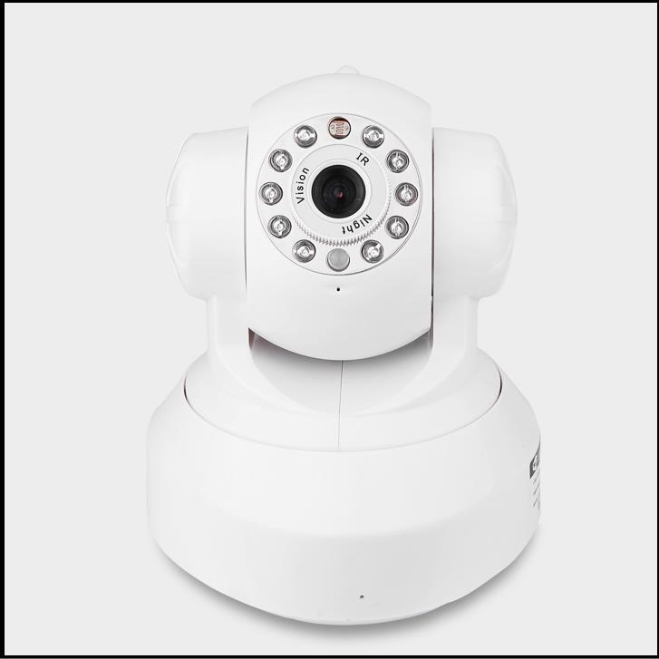 Home Wireless IP Camera PTZ WiFi 1.0Mega Pixel IR Night Vision 2 way Audio Indoor P2P Security Cam onvif pnp pip network