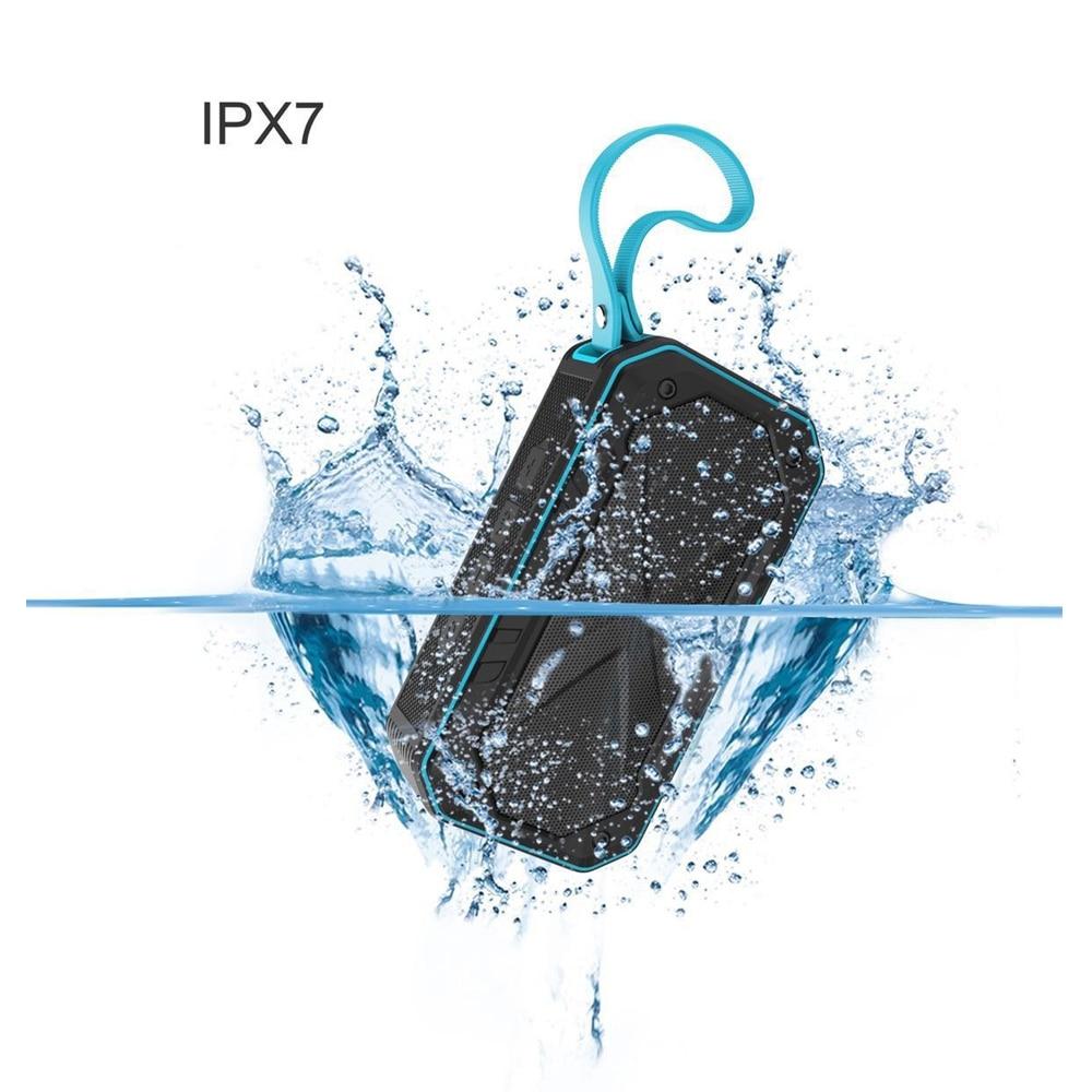 W-king Speakers Mini Portable Wireless Bluetooth Speaker for Iphone8/X IPX7 waterproof speakers bluetooth portable with Radio w king speakers portable wireless bluetooth speaker bass sound subwoofer wireless sound box 25w powerful bluetooth speakers