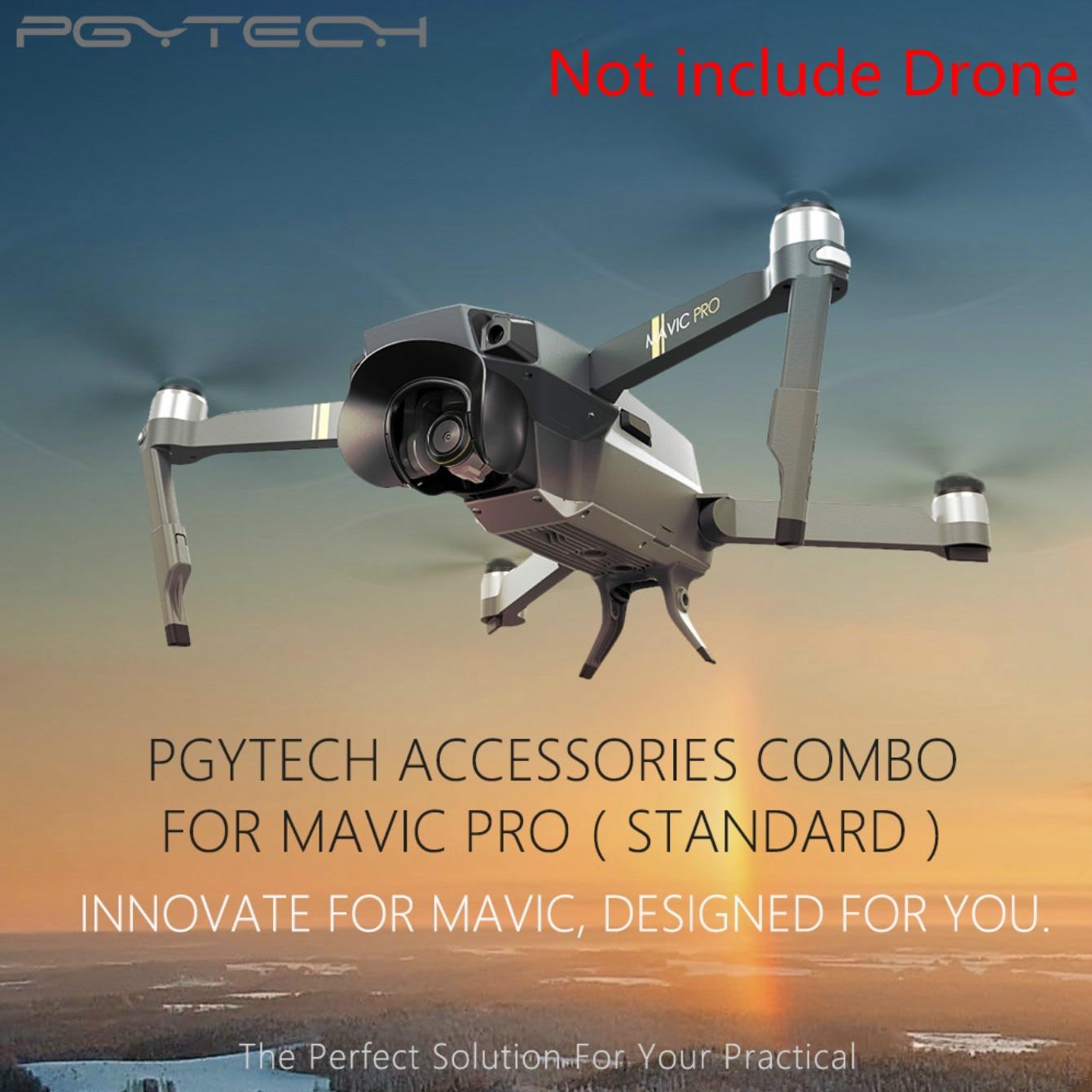 Standaard Mavic Pro Accessoires Combo Landing Pad Zonnekap Propeller Houder Landingsgestel Drone Accessoire Voor Dji Mavic Pro Combo Hot Sale 50-70% Korting