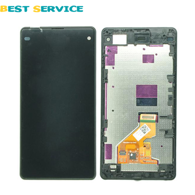 Подробнее о 5PCS/ Lot For Sony Xperia Z1 Compact D5503 LCD Display+Touch Screen Digitizer with Frame Assembly Black White Free Shipping 10pcs lot aaa 5 black white lcd for sony xperia z1 l39h lcd display touch screen digitizer frame assembly l39 c6902 c6903 dhl
