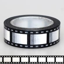 1x15 мм лента черно белая пленка для фотоаппарата печать скрапбукинг