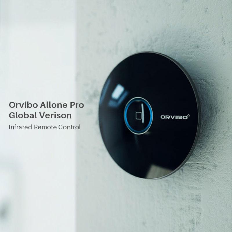 Orvibo Allone Pro Universal Smart WIFI IR RF Remote Controller 433MHz Works With Alexa Google Home Via Smartphone APP Control