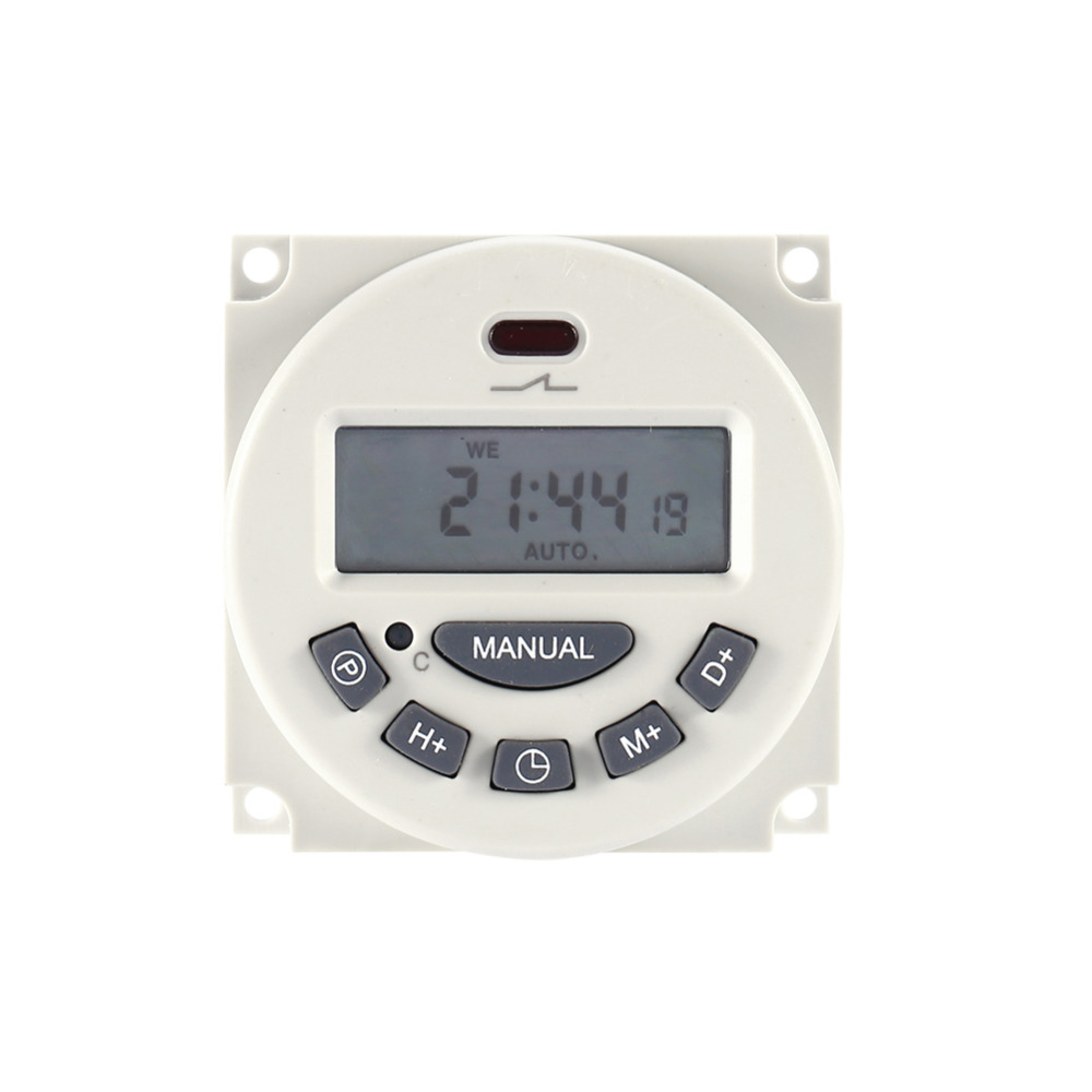 Auto Water Saving Irrigation Controller LCD Digital Watering Timer Solar Power