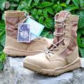 2016 Delta Botas Tácticas SWAT Botas de Combate Militares Del Desierto Botas de Trabajo Zapatos Al Aire Libre Impermeable Transpirable Usable Del Ejército Botas