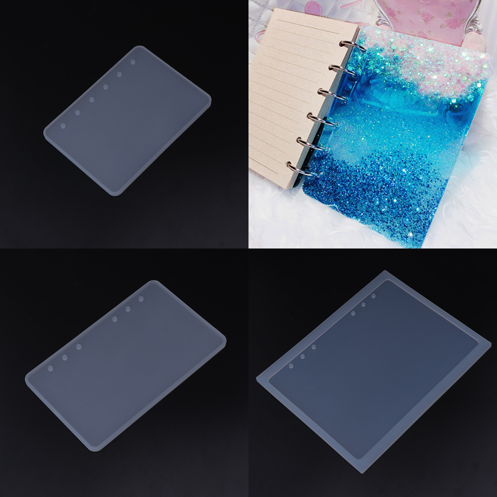 Silicone Mold DIY Crafts Notebook Shaped A5A6A7 Mirror Jewelry Making Book Resin