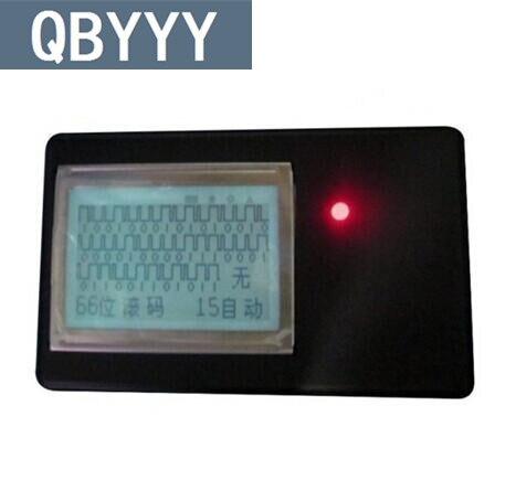 QBYYY 1 pc Garage voiture Radio transmetteur duplicateur 2 en 1 433 Mhz 315 Mhz télécommande récepteur télécommande clé Code Scanner gratuit
