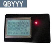 QBYYY 1 pc Garagem Duplicadora Transmissor de Rádio de Carro 2 em 1 Receptor de Controle Remoto 433 Mhz 315 Mhz Remoto Chave Scanner de código de frete