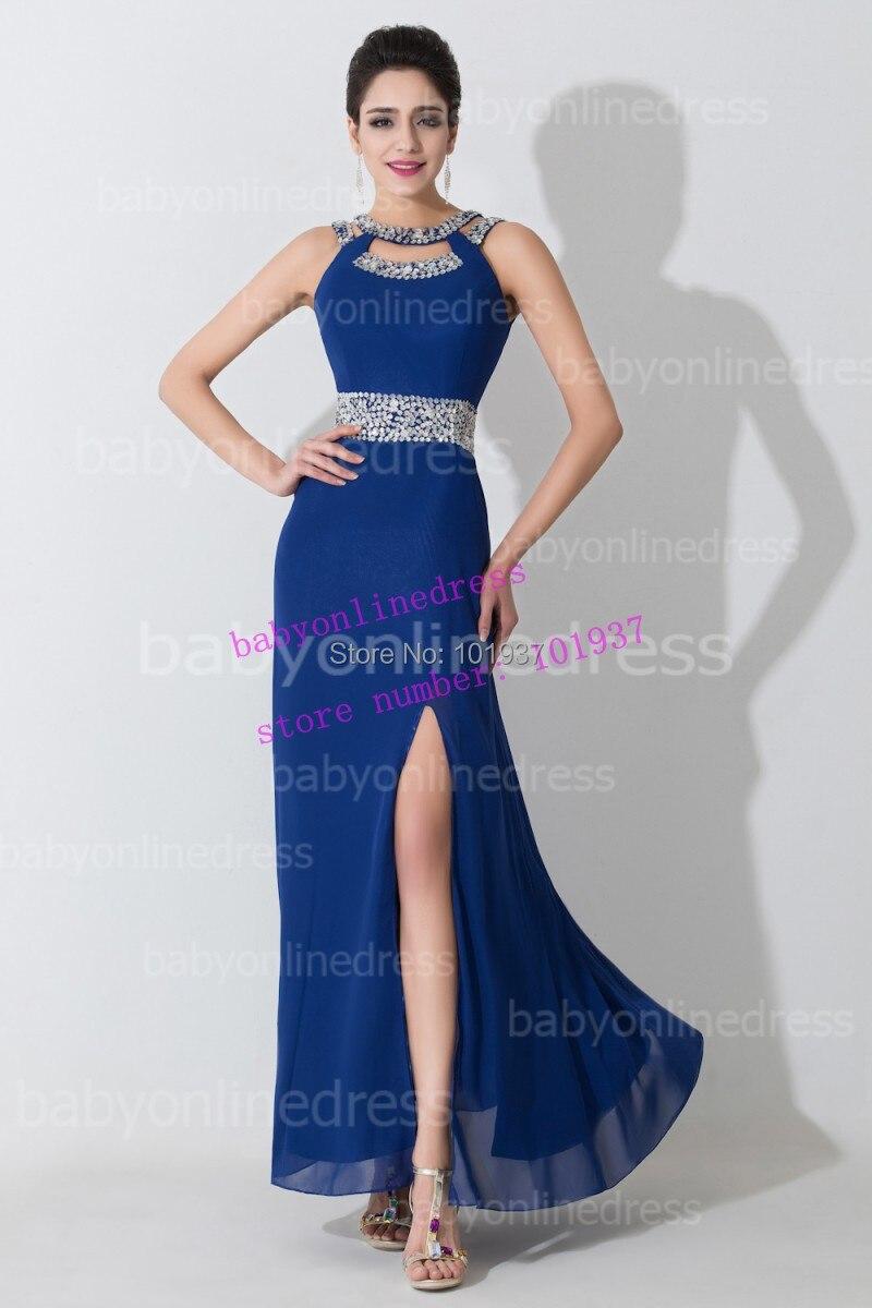 Vestidos azul electrico para fiesta