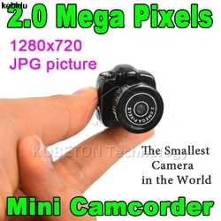 2017 Hotest Y2000 Cmos Супер Мини видеокамера Ультра маленький карман 640*480 480P DV DVR видеокамера рекордер веб-камера 720P JPG фото