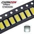 100 pcs SMD5730 Ultra Bright 0.5 W LED 5630 SMD 5730 Diodo branco 6000 k 6500 k Super Brilhante Chip de SMD5630 5730SMD SMT Emitting Diode