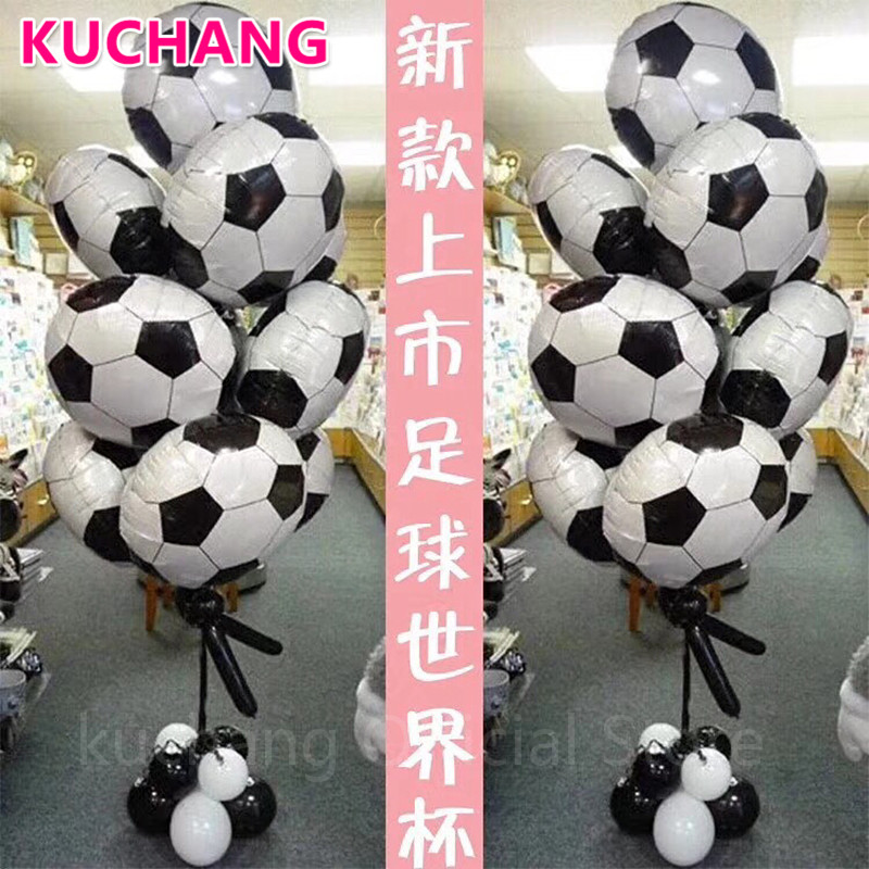 18inch Football Basketball Volleyball 4d Soccer Foil 12inch Latex