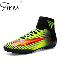 Fires Men Soccer Boots Indoor Football Shoes For Sale Brand Futsal Shoes Crampon Football 2017 Shoes