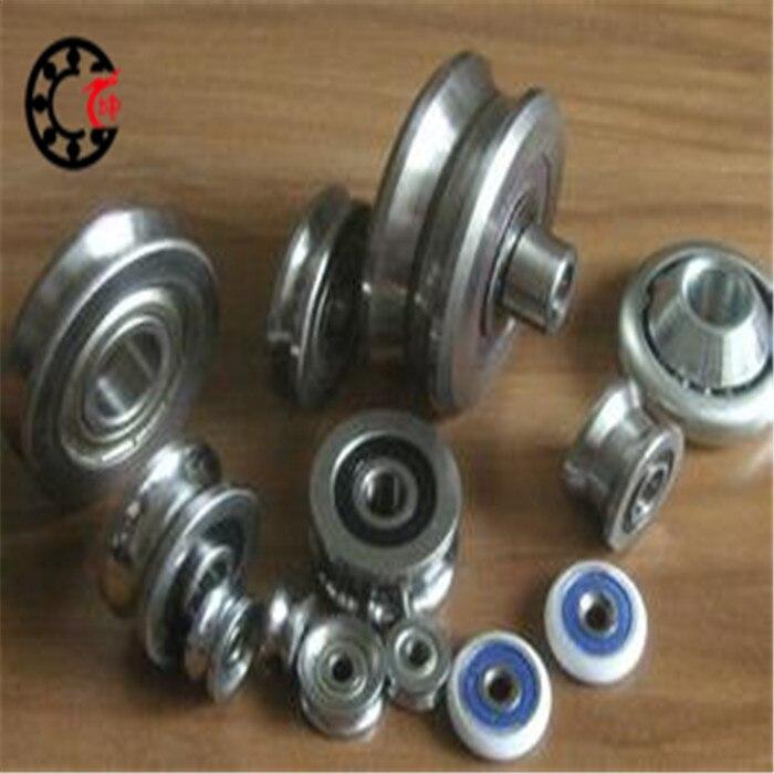Free shipping LV201 V groove deep groove ball bearing 12x41x20mm Traces walking guide rail bearings ABEC3 free shipping 2pcs v625 90 v625zz v groove deep groove ball bearing 5x16x5mm pulley bearing