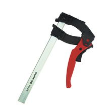 Ratchet f clamp wood working quick grip f style bar with plastic grip wood clamp