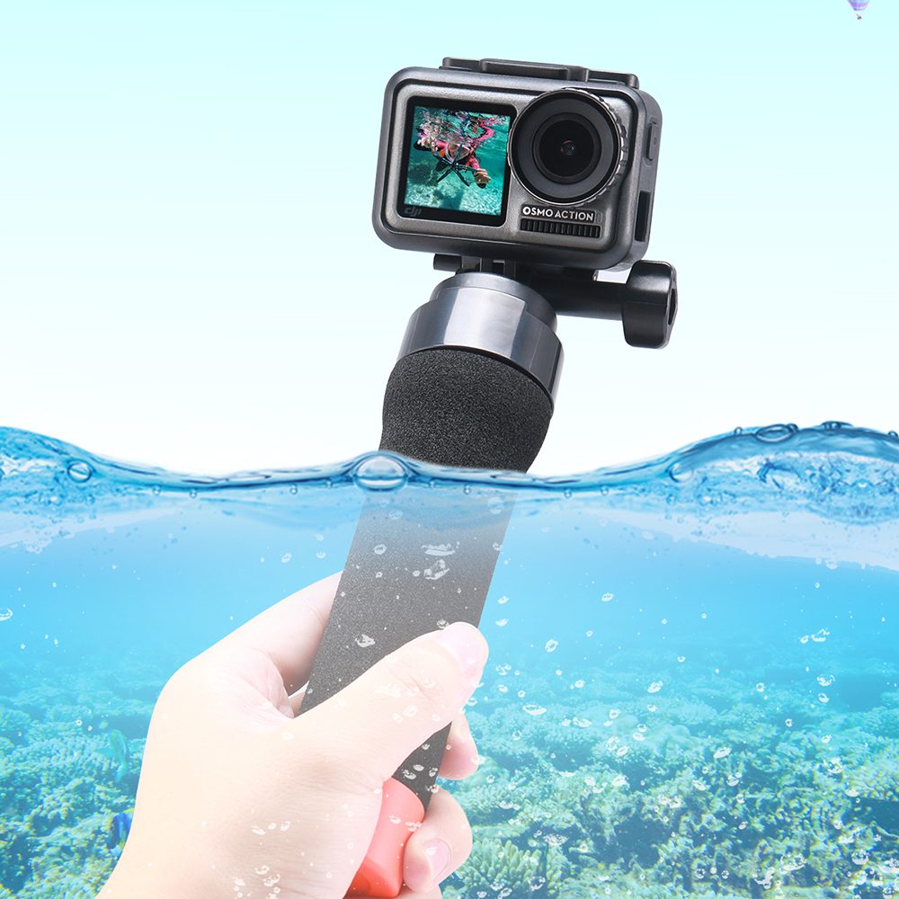 ULANZI U 11 OSMO Action Floating Hand Grip Waterproof Diving Stick Handle Osmo Action Camera Accessories Anti sink Diving Rod in Sports Camcorder Cases from Consumer Electronics
