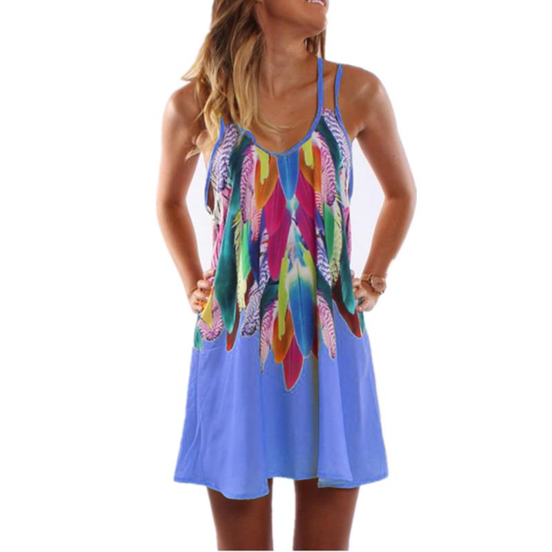 Sexy Printed Plus Size Women Clothing Casual Summer Beach 1