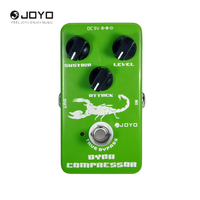 JOYO JF 10 Dynamic Compressor Guitar Effect Pedal With True Bypass 3 Knobs Electric Guitar Accessories