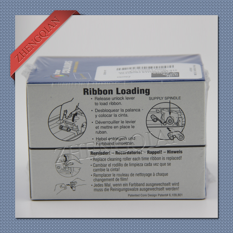 US $665 0 5% OFF|Zebra id card printer ribbon 800015 440cn pvc card printer  ribbon for P330i P430i card printer-in Printer Ribbons from Computer &