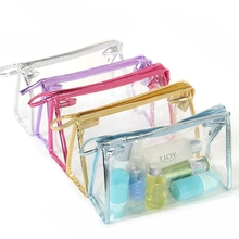 Multi-Colors Woman Cosmetic Bag Storage Fashion Lady Travel Pouch Bags Clutch Organizer Makeup