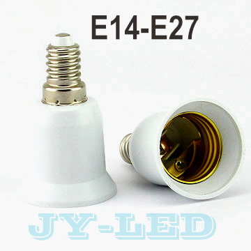 10pcs/lot E14-E27 Lamp Holder Converter Socket, Lamp Holder Adapter Light Bulb Plug Extender free shipping