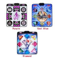 KL Dance Pad English Menu 11 mm Thickness Dancing Pads Single Fitness Yoga Mat With 2 Remote Controller Sense Game For PC TV