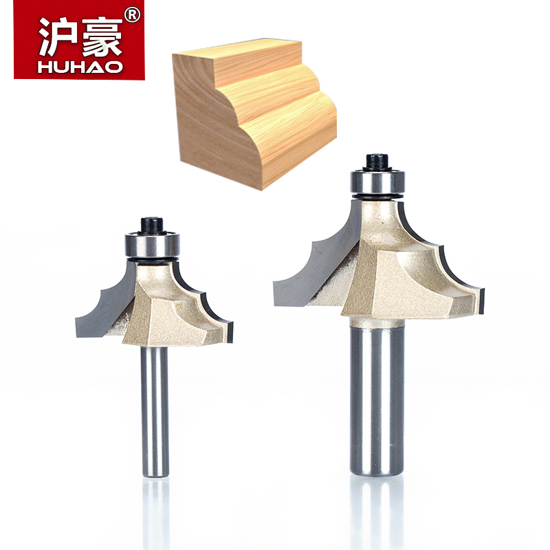 HUHAO 1pcs 1/2 1/4 Shank classical Router Bits for wood Tungsten Carbide Woodworking endmill tools classical mounlding bit huhao 1pcs 1 2 1 4 shank classical router bits for wood tungsten carbide woodworking endmill tools classical mounlding bit