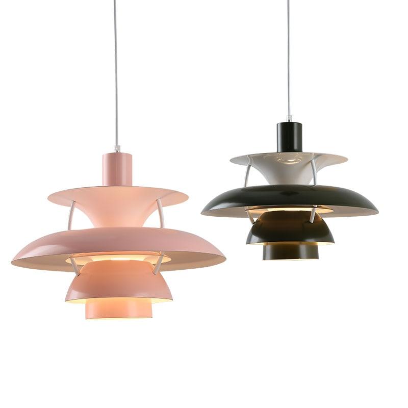 Modern Louis Poulsen PH5 Pendant Lights for Living Room Nordic Led Hanging Lamp Bedroom Kitchen Light Fixtures Home Loft Decor все цены