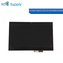 MEIHOU For Lenovo Yoga370-13 FHD LCD Touch Screen Assembly LP133WF4(SP)(A1) P/N SD10M34076 FRU 01HW909 ST50M06959 LCD Sceen