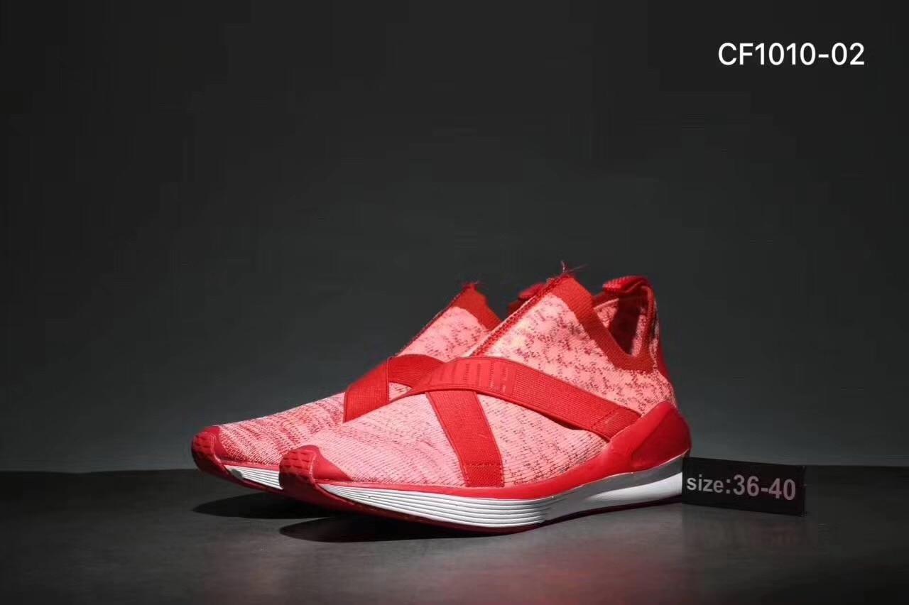 2018 New Arrival PUMA Women's Fierce Evoknit WN's Cross-Trainer Badminton shoes Size 36-40 puma puma icra trainer nl geometry